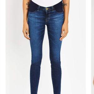J Brand maternity side panel jeans